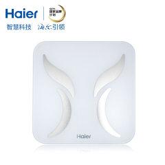 海尔(Haier)智能体脂称Q31 蓝牙连接家用体重秤电子秤成人脂肪秤
