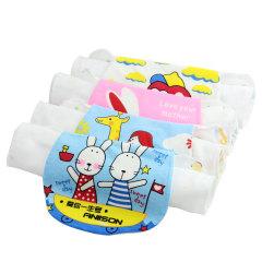 斜月三星婴幼儿童宝宝夏季吸汗巾 2条装
