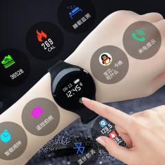 金迪拉新概念智能手表电子表男女学生潮流运动多功能计步韩版简约触屏表