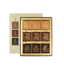 边走边淘 歌帝梵商务片装巧克力9片装  包邮